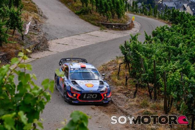 Dani Sordo en el Rally de Sarón - SoyMotor