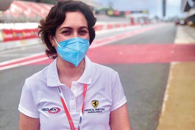 Anna Carreras, la traumatóloga de Ferrari - SoyMotor.com