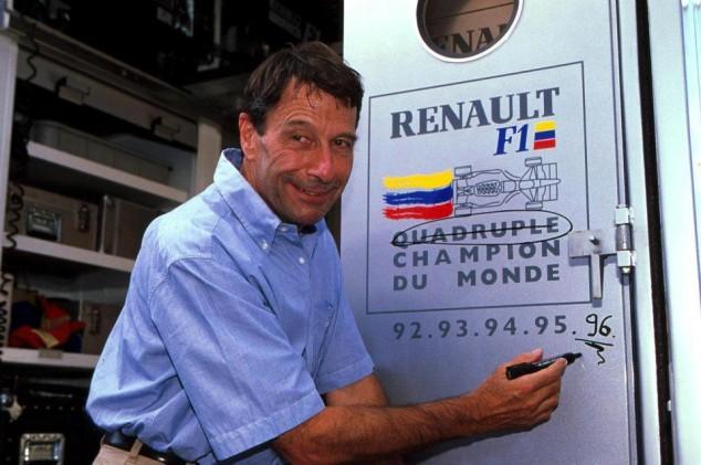 La historia de Renault en la F1. Parte 4: Final de los años 80 y años 90 - SoyMotor.com