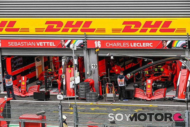 Ferrari en el GP de Bélgica F1 2020 - SoyMotor.com