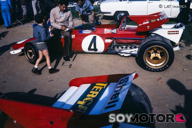 Tergal, el primer patrocinador de Ferrari, hace 50 años - SoyMotor.com