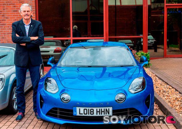 Los coches de Gordon Murray: el último, ¡un Alpine A110! - SoyMotor.com
