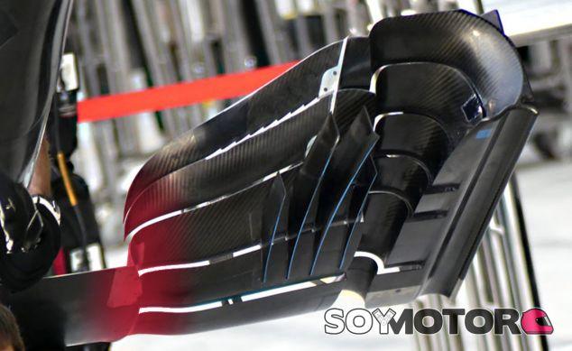 Parte inferior de un alerón delantero - SoyMotor