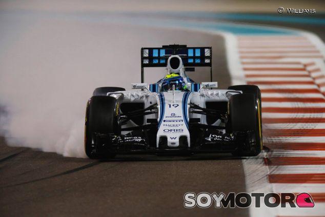 Felipe Massa conduciendo al límite en el Gran Premio de Abu Dabi - LaF1