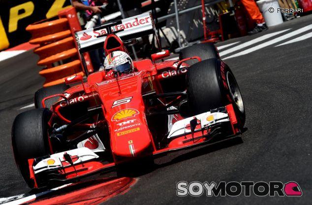Vettel a los mandos del SF15T- LaF1es