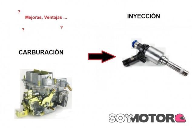 ¿Qué se consiguió mejorar con la inyección? - SoyMotor.com
