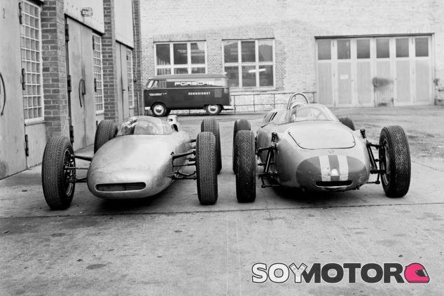Los Porsche 804 y 718-2 con los que la marca alemana compitió en la Fórmula 1 en los 60 - LaF1