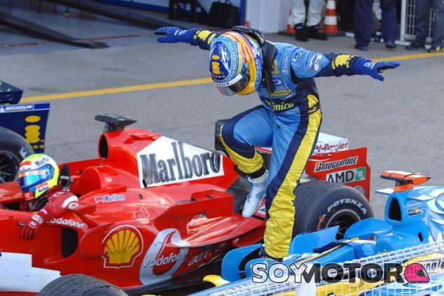 Los años de Renault fueron los mejores de Alonso y España, no hay que olvidarlos - LaF1