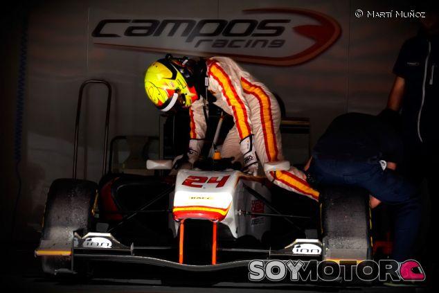 Alex Palou en los test de la GP3 en Montmeló - LaF1