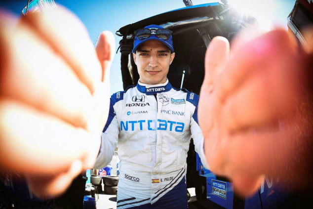 Alex Palou: podio en Laguna Seca y título en juego en Long Beach