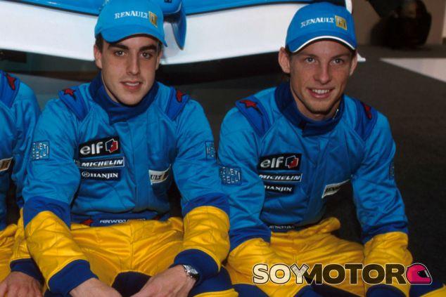 Fernando Alonso y Jenson Button, el reencuentro de viejos conocidos - LaF1
