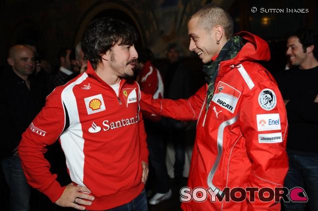 Rossi, Alonso y un desafío sin completar: F1, MotoGP y Rally - SoyMotor.com