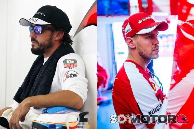 Alonso y Vettel, dos grandes campeones, dos formas distintas de ganar - LaF1