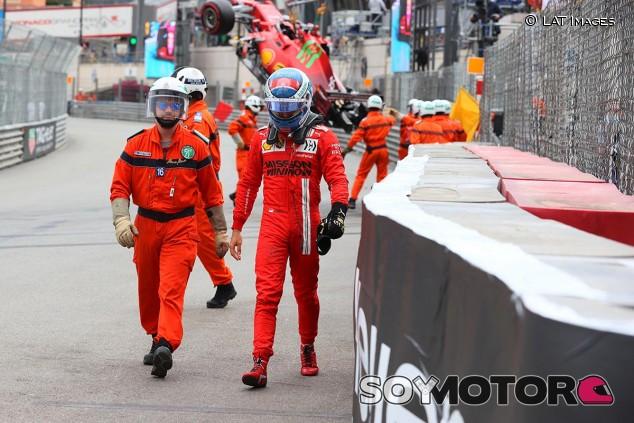 Charles Leclerc en el GP de Mónaco F1 2021 - SoyMotor.com