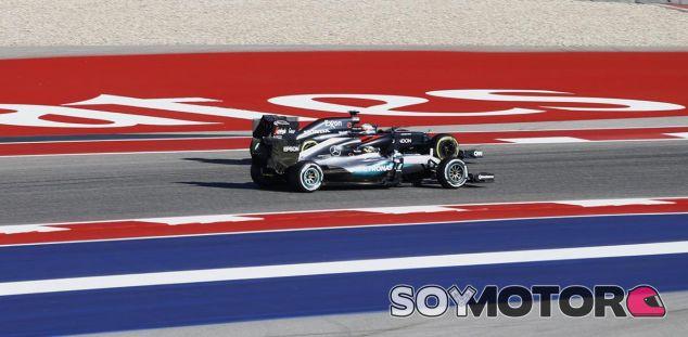 Cambio Motores GP Estados Unidos F1 2016: Mercedes al límite