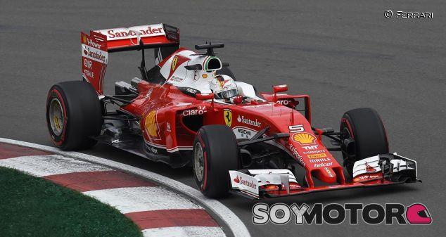Sebastian Vettel en los entrenamientos libres de Canadá - LaF1