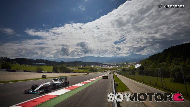 Lewis Hamilton en el Gran Premio de Austria - LaF1