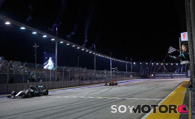 Nico Rosberg vence en Singapur - LaF1
