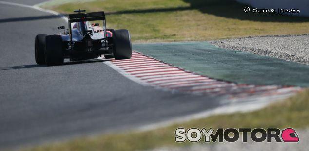 Jenson Button hoy en Montmeló - LaF1