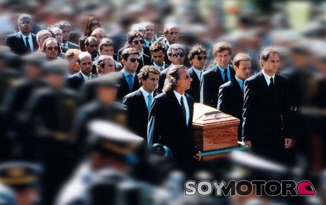 Comitiva fúnebre de Ayrton Senna - LaF1