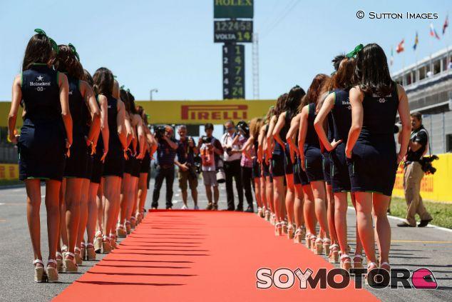 Azafatas durante el Gran Premio de España 2017 - SoyMotor.com