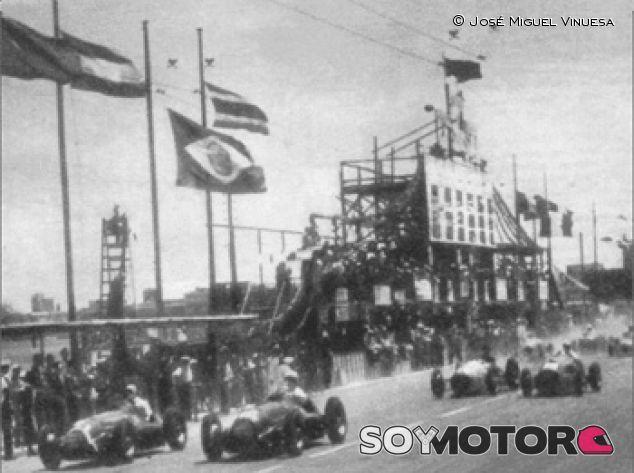 Salida del GP de Bari de 1950 - LaF1