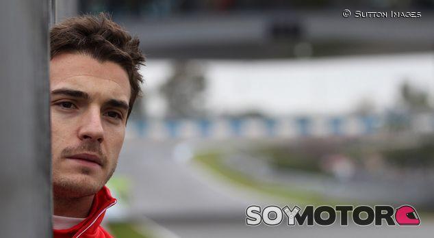 Jules Bianchi en Jerez durante la pretemporada de 2014 - LaF1
