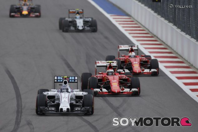 Más que Mercedes, Ferrari y Williams fueron los que marcaron el ritmo en Rusia - LaF1