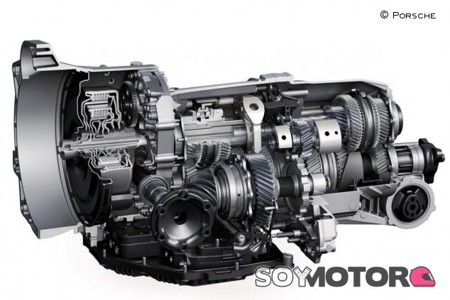En imagen, la caja de cambios robotizada PDK de Porsche - SoyMotor.com