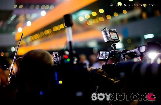Celebraciaón del tetracampeonato de Sebastian Vettel y Red Bull - LaF1