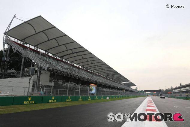 La recta principal del Autódromo Hermanos Rodríguez de México - LaF1