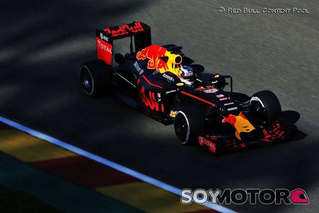 Daniel Ricciardo en Spa - LaF1