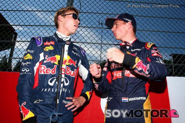 Verstappen le quita el volante de Red Bull a Kvyat - LaF1