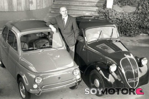 Dos de sus principales creaciones, el Topolino y su sucesor, la ''nuova'' 500 - SoyMotor.com