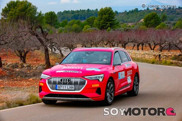 Eco Rallye CV 2020: el Audi e-tron de SoyMotor.com ¡fue podio en regularidad!