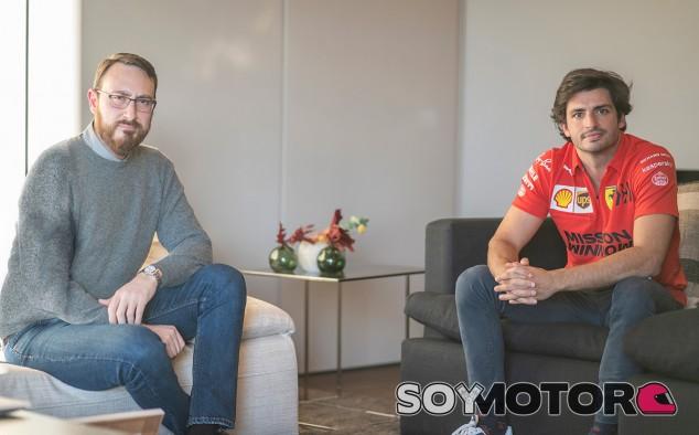 Cristóbal Rosaleny y Carlos Sainz - SoyMotor.com