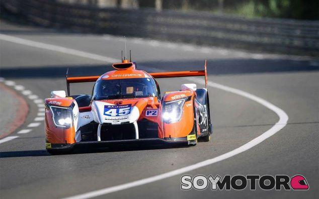 El Ligier de McMurry en Le Mans