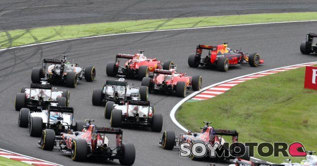 La salida del GP de Japón no tuvo incidentes - LaF1