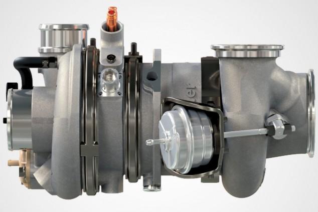 Recargarán las baterías aparte de realizar su cometido principal, en la imagen un eTurbo de BorgWarner - SoyMotor.com
