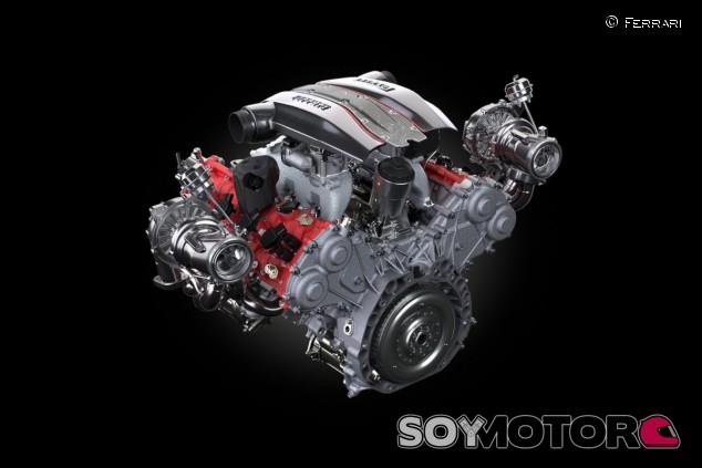 El motor del Ferrari 488 Pista es un V8 biturbo a 90 grados y 720 caballos - SoyMotor.com