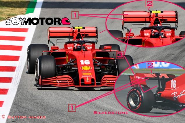 TÉCNICA: Las novedades del GP de España F1 2020