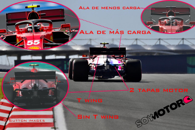 TÉCNICA: las novedades más destacadas del GP de Turquía F1 2021