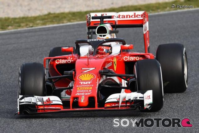 Ferrari estrenó el halo en pretemporada - LaF1