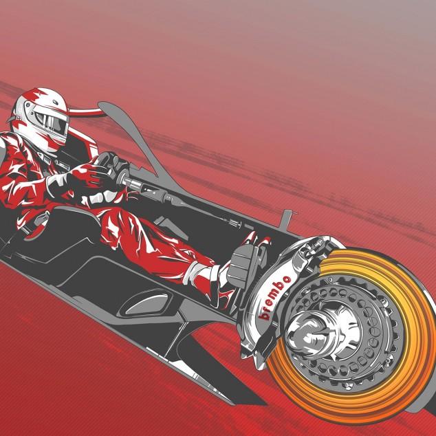 TÉCNICA: El funcionamiento de los frenos en Mónaco F1 2019