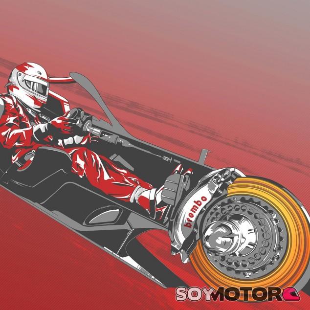 TÉCNICA: el funcionamiento de los frenos en el GP de la Toscana F1 2020
