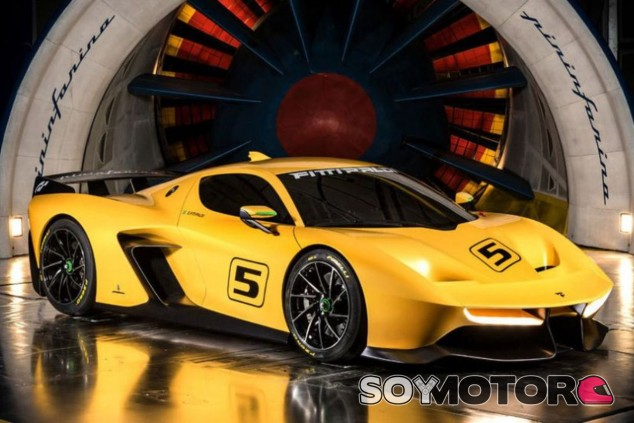 El Pinifarina Fittipaldi E7 en el túnel de viento de la firma - SoyMotor.com