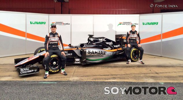 Analizamos el nuevo monoplaza de Force India para 2016 - LaF1