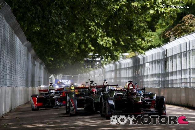 La última cita de la Fórmula E en Londres tuvo emoción hasta la última curva - LaF1