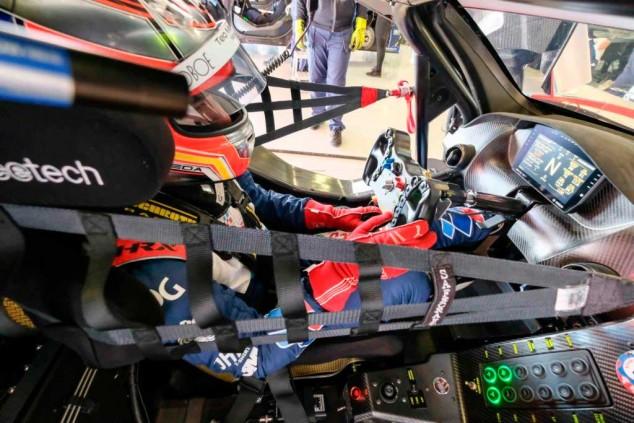 Fran Rueda en el McLaren 720S GT3 de Teo Martín - SoyMotor