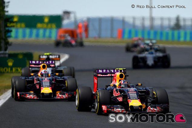 Los dos Red Bull en Hungría - LaF1.es